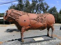 Scrap sculpture