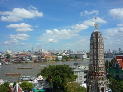 Bangkok from Wat Arun