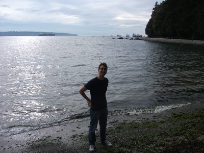 Me on the Beach, some skimming was done here