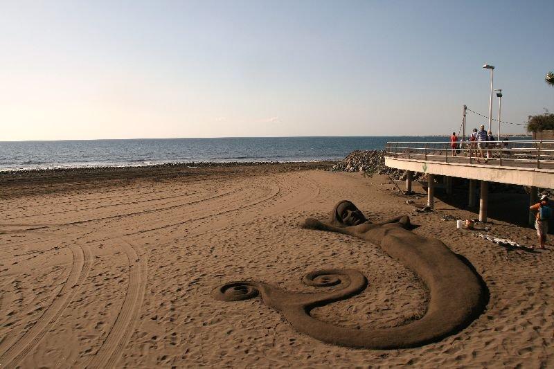 A sandsculpture