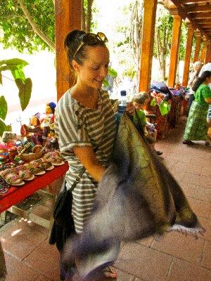 Antigua, Guatemala - Anna Shopping