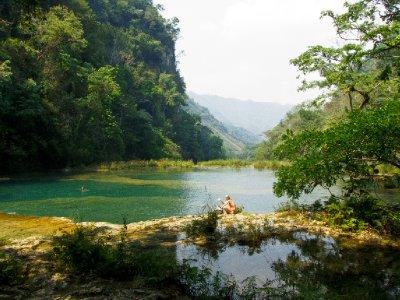 Semuc Champey, Guatemala - Pools at Semuc Champey
