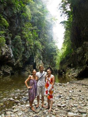 Rio Dulce, Guatemala - Mike, Anna and Jess