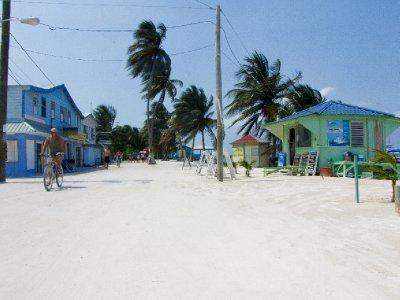 Caye Caulker, Belize - Mainstreet