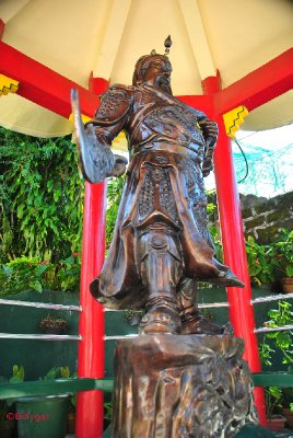Statue of Chinese soldier
