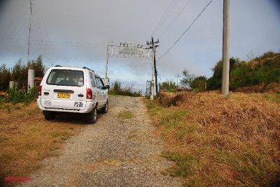 The Road to Mt. Sto Tomas