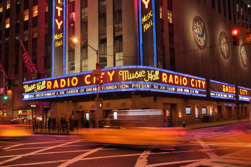 Radio City at the Rockerfeller Centre