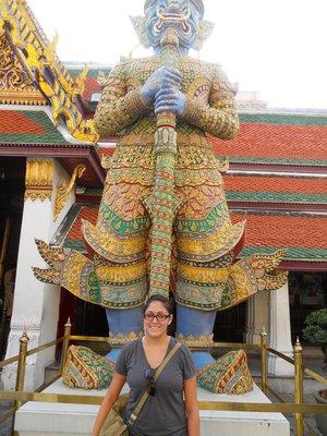 Gaurdians Protecting the Grand Palace in Bangkok