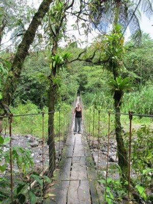 Bridge in Arenal National Park