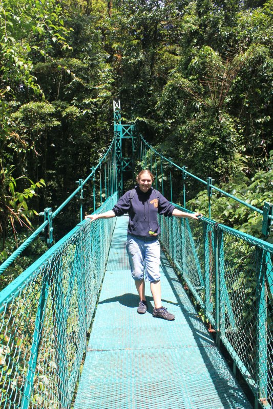 Me on a bridge