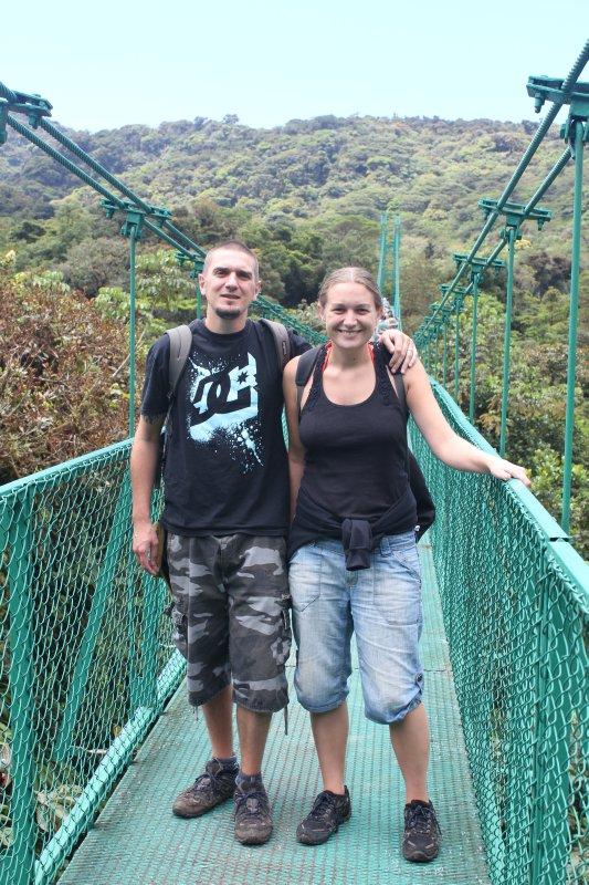 Me & Jay on a bridge