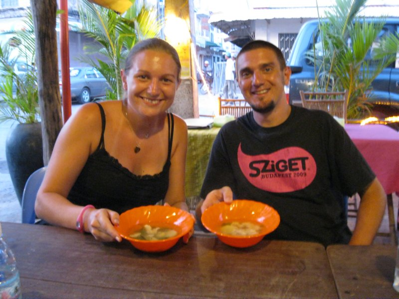 Jay & me & our chicken soup