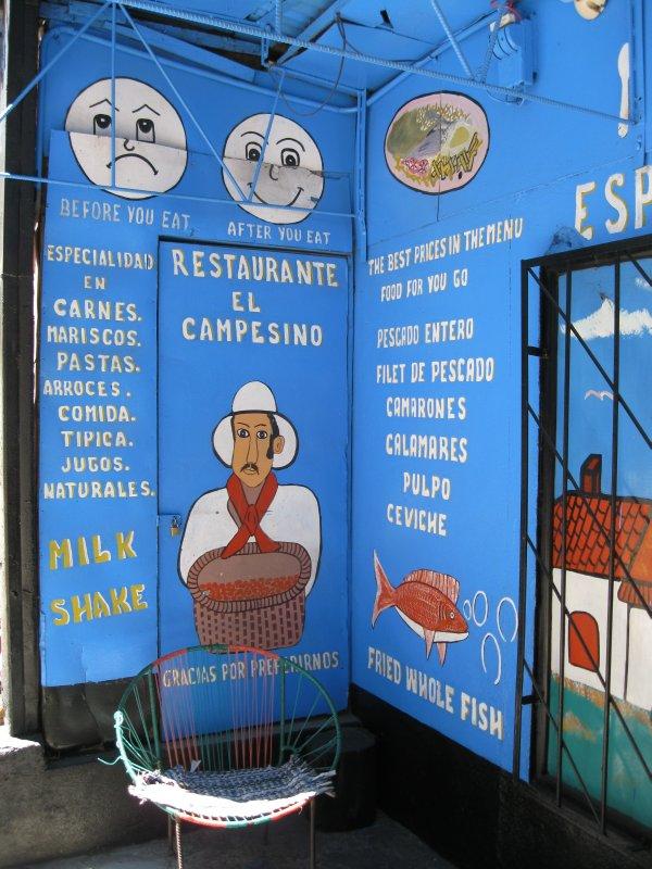 Restaurant in Santa Elena