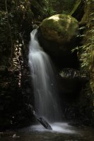 A waterfall in the Ecological Reserve