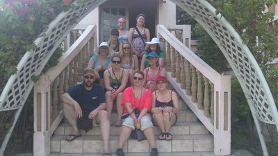International Tourism Study Tour of Belize - Day 1