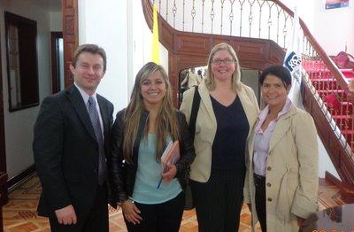 NSCC at CESA in Bogota, Colombia