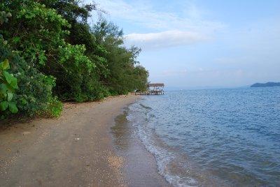 Øde strand så langt øyet kan se :-)