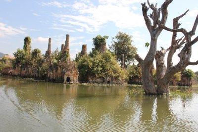 ruins at SanKar in the water