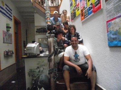 A galera do Hostel
