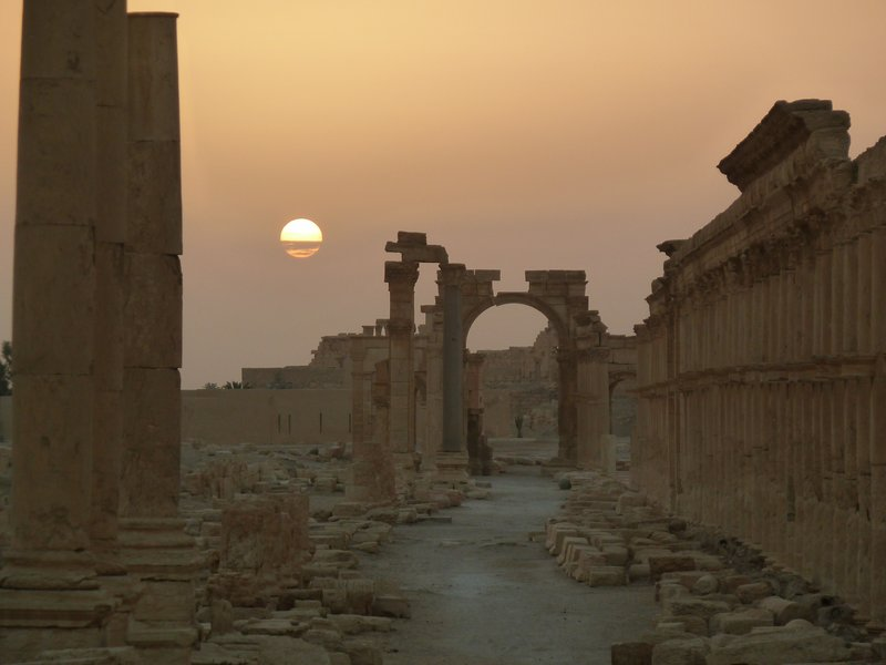 Sunrise at Palmyra