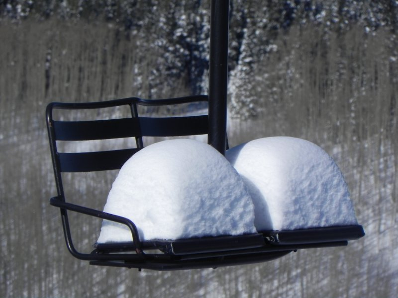 Love Seat in Crested Butte