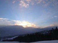 Ski Tour at about 7:30 AM