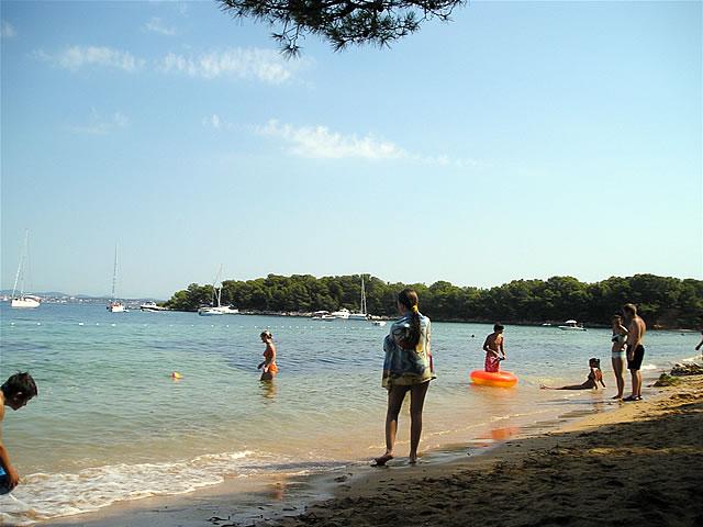 Pakostane, beach