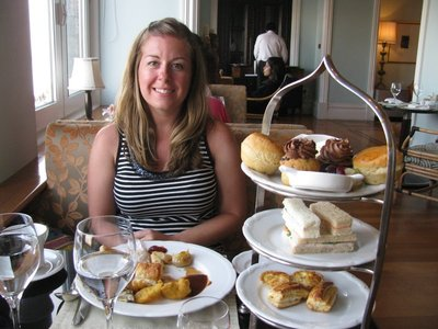 High Tea at the Taj Hotel - From Backpacker to High Society