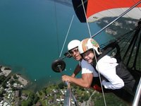 Hand Gliding in the Swiss Alps!