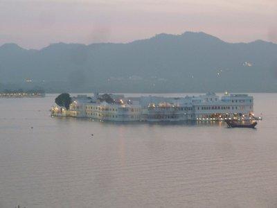 Lake palace / hotel in Udaipur