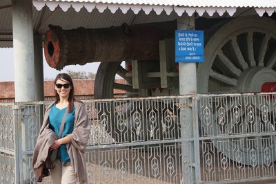 Largest canon in Asia at jaigarh fort