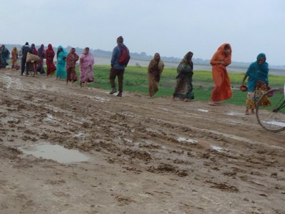 Walking to the Ganges