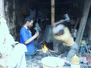 Iron workshop here in my city Marrakech