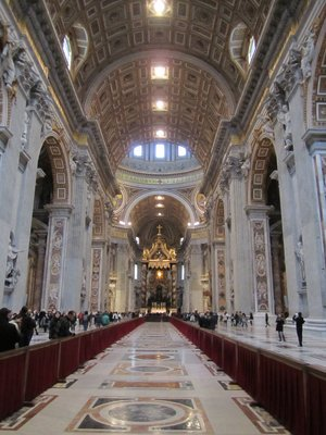 St. Peter's Basilica nave
