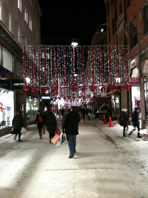 Stocholm Christmas lights