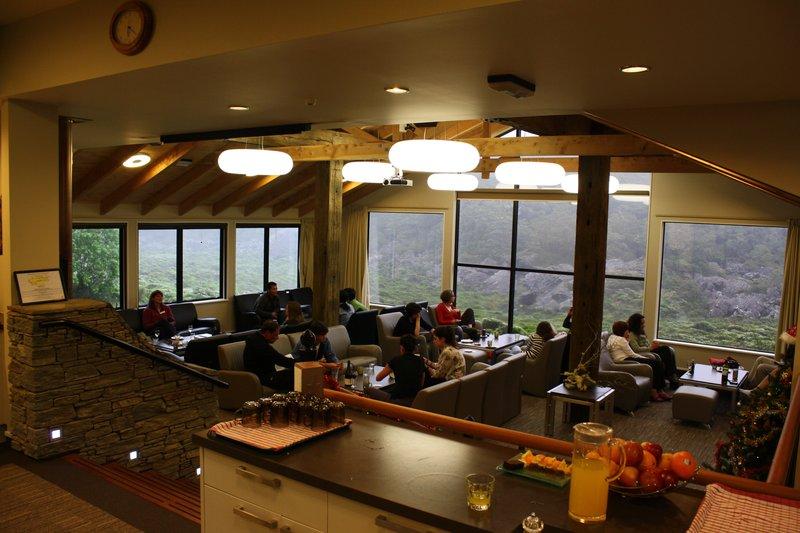 Inside Mackenzie Lodge
