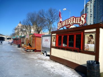 Beaver Tails on the Rideau Canal