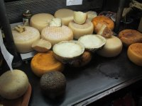 Cheese, cheese and more cheese please.  Chianti Region, Tuscany