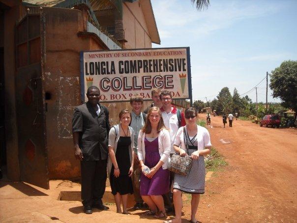 At Longla Comprehensive College. Bamenda, Cameroon.