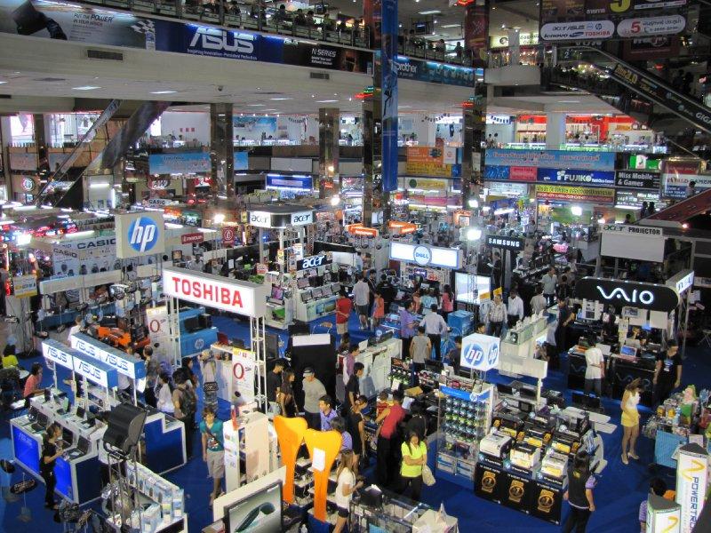 Computer city in Bangkok