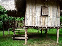 Thailand Lisu hilltribe Bungalow