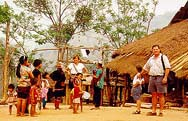 An Akha Village