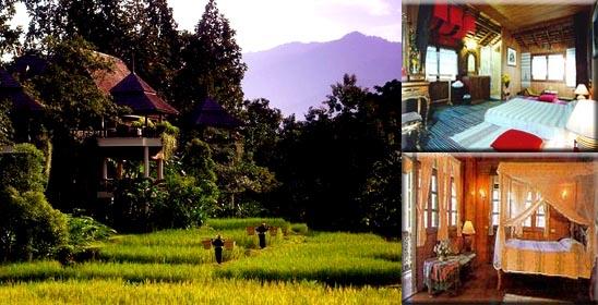 Mountain Resort near Chiang Mai Thailand