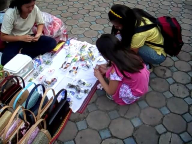 Buying hand made minature dolls