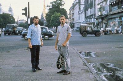 Ade and Al in Downtown Rangoon