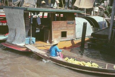 Banana Seller, river market