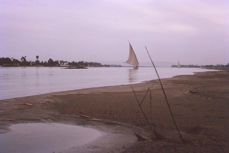 The Nile at Dusk, Luxor