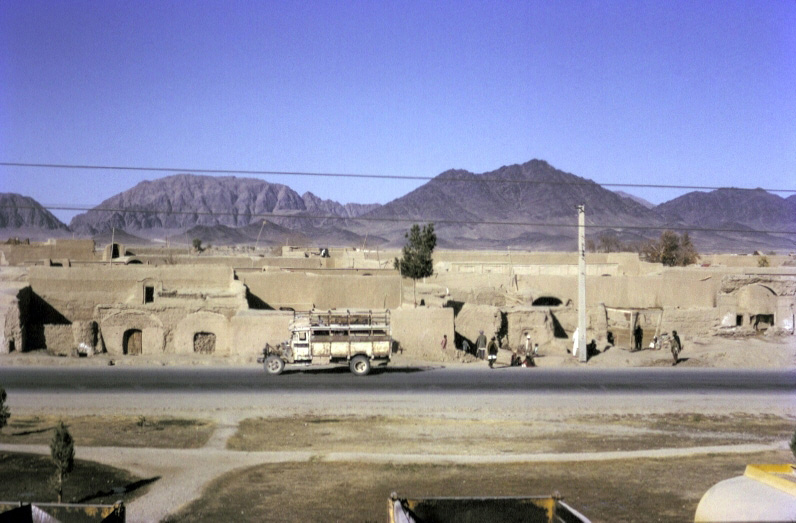 View from the room in Kandahar