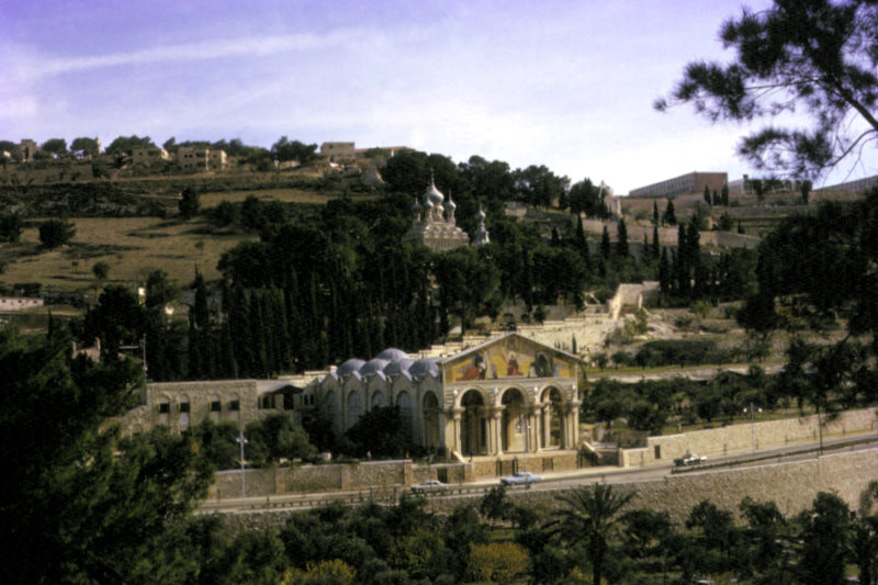 Church of All Nations and the Mount of Olives