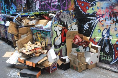 Local rubbish, add a perfumed stench and pass it off as art, c/o NGV